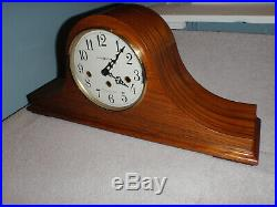 Howard Miller 630-163 Mantel Clock 8 Day Key Wound Westminster Chime Beautiful