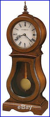 Howard Miller 635-162 (635162) Cleo Mantel/Mantle/Shelf Clock- Chestnut