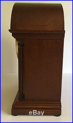 Howard Miller Barrister Mantle Clock Model 613-180 Westminster Chime W. Germany