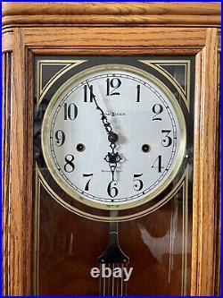 Howard Miller Chime Regulator Wall Clock. 620-166