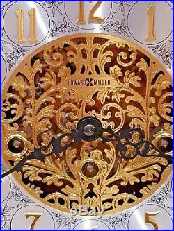 Howard Miller Chiming Mantle Clock Germany 340-020 Westminster