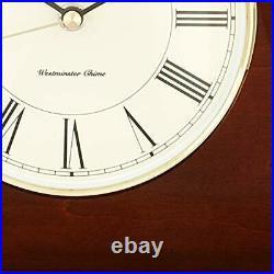 Howard Miller Christopher Mantel Clock 635-101 Quartz & Single Chime Movement