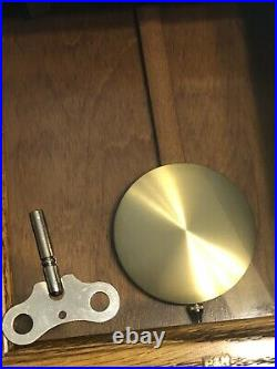 Howard Miller Clock Westminster Mantel Chime 613-108 Sandringham With Key Works