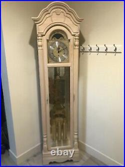 Howard Miller Fallsworth II Grandfather Clock Model #610-755 White Oak