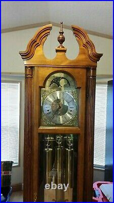 Howard Miller Grandfather Clock, 68th Anniversary Edition