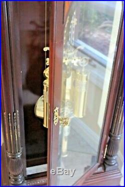 Howard Miller Grandfather Clock-Cherry PRESIDENT JACKSON II 610-884 CHARITY
