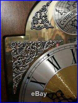 Howard Miller Grandfather Clock Tempus Fugit Works! Great Condition! Westminster