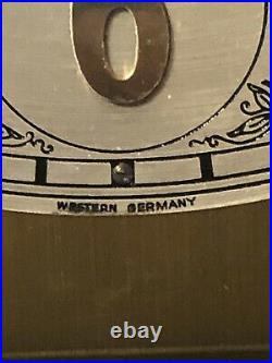 Howard Miller Grandfather Clock Triple Chiming Barwick #4875 Working (Service)