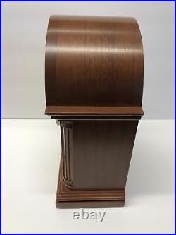 Howard Miller Inlaid Mantle Clock Westminster Chime Barrister Model No # 613-180