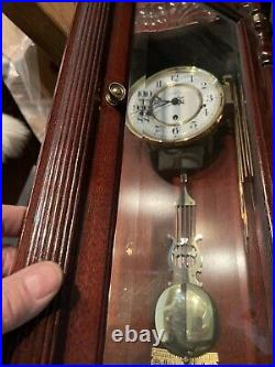 Howard Miller Jennison Chiming Wall Clock 612-221 Beautiful, Perfectly Working