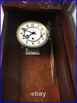 Howard Miller Jennison Model Wall Clock Triple Chime Westminster Whittington