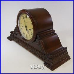 Howard Miller Key Wound Mantel Clock NEWLEY 630-198 Westminster Chimes