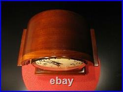 Howard Miller Kieninger Barrister Mantle Clock Westminster Chime Key Wind, Works