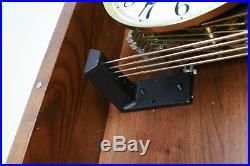 Howard Miller Malia Wall Clock with Westminster Chime Cherry Quartz Movement