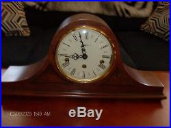 Howard Miller Mantle Clock Westminster Chimes Working with key 1050-020