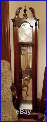 Howard Miller Model 610-733 Nottingham Grandfather Floor Clock Duel Chime
