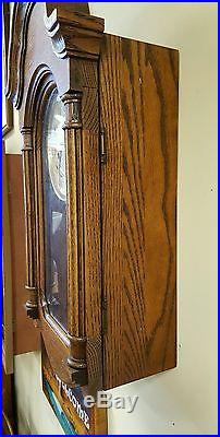 Howard Miller Model 613-226 Wind Westminster Chime Pendulum Wall Clock with Key