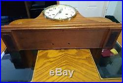 Howard Miller Model 613-615 Westminster Chime Oak Mantle Clock
