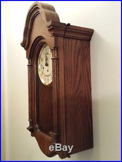 Howard Miller Pendulum Wall Clock Model 613-226 with Key Wind Westminster Chime