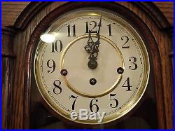 Howard Miller Pendulum Wall Clock Model 613-226 with Key Wound Westminster Chime