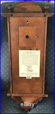 Howard Miller Vienna Regulator 612-462 Westminster Chime Oak Wall Clock