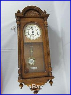Howard Miller Wall Clock Westminster Chime Franz Hermle Movement Made in Germany