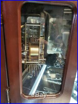 Howard Miller Westminster Chime Bracket Mantel Shelf Clock Wkey Cherry, Nice