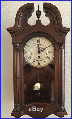 Howard Miller Westminster Chime German Movement Wall Clock Model 613-227