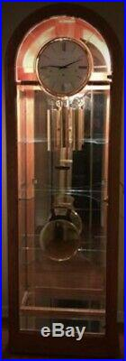 Howard Miller Westminster Chime Illuminated Grandfather Clock Model 610-683