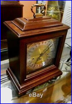 Howard Miller Westminster Chime Keywound Mantel Clock