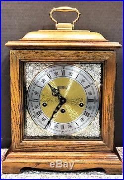 Howard Miller Westminster Chime Mantel Clock Franz Hermle 340-020 Beautiful