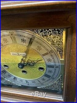 Howard Miller Westminster Chime Mantel Clock Made in USA West Germany Movement