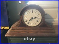 Howard Miller Westminster Chime Mantel Clock Model 613-103 Fully Functional