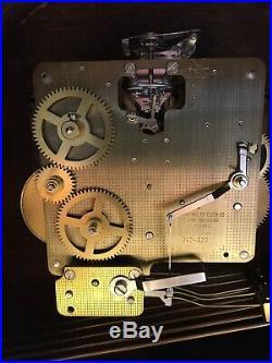 Howard Miller Westminster Chime Mechanical Mantle Clock #613-102 Worthington