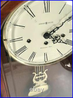 Howard Miller Westminster Chime Pendulum Wall Clock Model 620-126 Made In USA