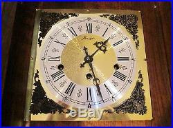 Huge German Mantle Clock Westminster Chimes Hermle 351-021 39#