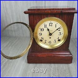 Incredible Antique Seth Thomas 1880's Adamantine Mantle Clock WORKING