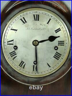 J. E. Caldwell Winterhalder Hofmeier Gothic Arch Westminster Chime Mantel Clock