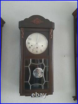 Junghans Antique German Westminster chime wall clock (0395)