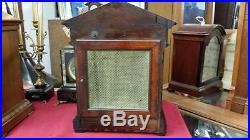 Junghans Westminster Chime Mahogany Mantel/bracket Clock