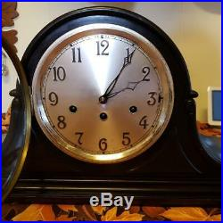 Junghans Westminster Chime Mahogany Mantle Clock