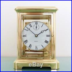KIENINGER Mantel CLOCK TRIPLE CHIME! Translucent! Westminster 4 Crysals! Germany