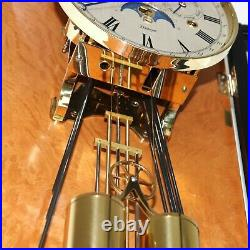 KIENINGER Wall Clock LIMITED Edition MOONPHASE Design CALENDAR Westminster Chime
