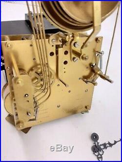 Kieninger 5 bell Westminster chiming clock movement spring driven