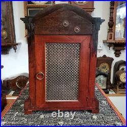 Kienzle English Walnut Westminster Chime Bracket Clock