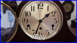 Kienzle Westminster Chime Tambour Mantle Clock