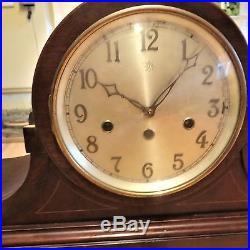 Large Junghans Westminster Chime Mantle Clock