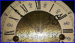 LINDEN WESTMINSTER CHIMES MANTEL CLOCK Germany WORKS WITH KEY