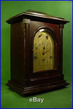Large Antique German Westminster Chime Kienzle Mantle Shelf Clock