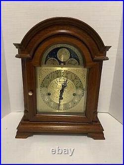 Large Bracket Shelf Westminster Clock moonphase 3 melodies triple chime BALDWIN